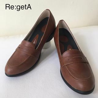 リゲッタ(Re:getA)のリゲッタ ウェッジローファーパンプス(ローファー/革靴)