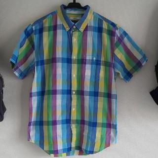 グラニフ(Design Tshirts Store graniph)のボタンダウンシャツ(シャツ/ブラウス(半袖/袖なし))