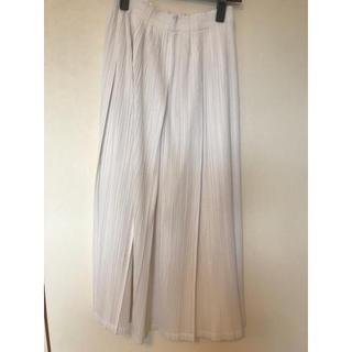 PLEATS PLEASE ISSEY MIYAKE - プリーツプリーズ     スカート ホワイト