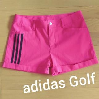 adidas - 美品♪adidas Golf★ピンクショートパンツ レディースゴルフウェア