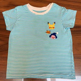 UNIQLO - ユニクロ Tシャツ モンポケ ポケモンTシャツ 90