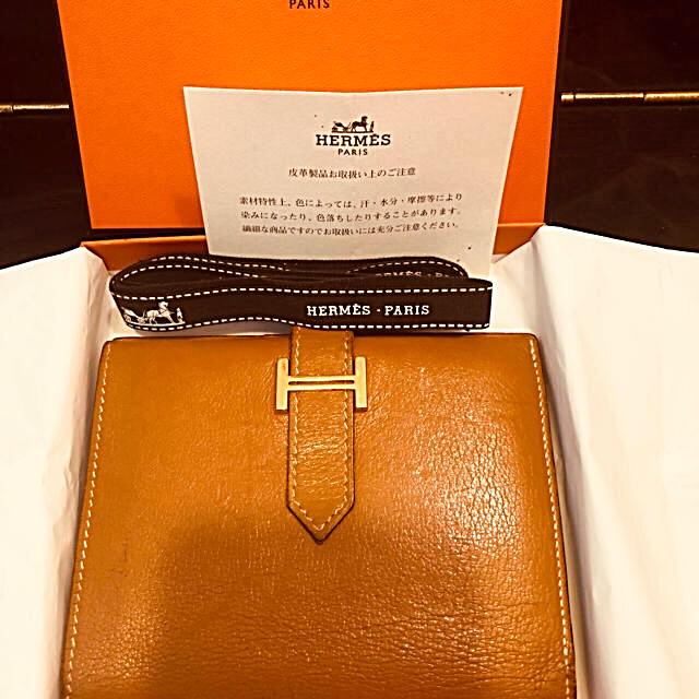 Hermes(エルメス)のツバサ様専用⭐️HERMESベアンコンコンパクトウォレット二つ折り財布 レディースのファッション小物(財布)の商品写真