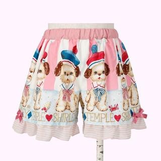 Shirley Temple - シャーリーテンプル 今季 マリンパピー キュロット 120 美品