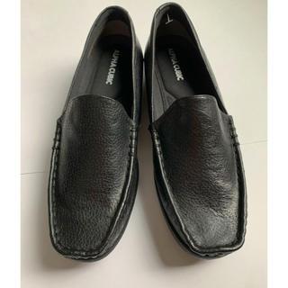 アルファキュービック(ALPHA CUBIC)の新品 本革 ブラック ローファー -ALPHA CUBIC-(ローファー/革靴)