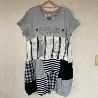 ScoLar - スカラー ロングTシャツ