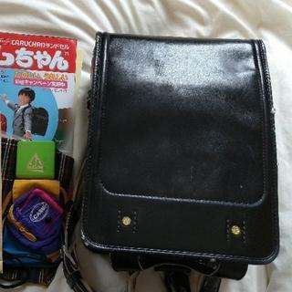 2003年カルちゃんランドセルNO.3NEWかるかる黒色㈱神田屋鞄製作所