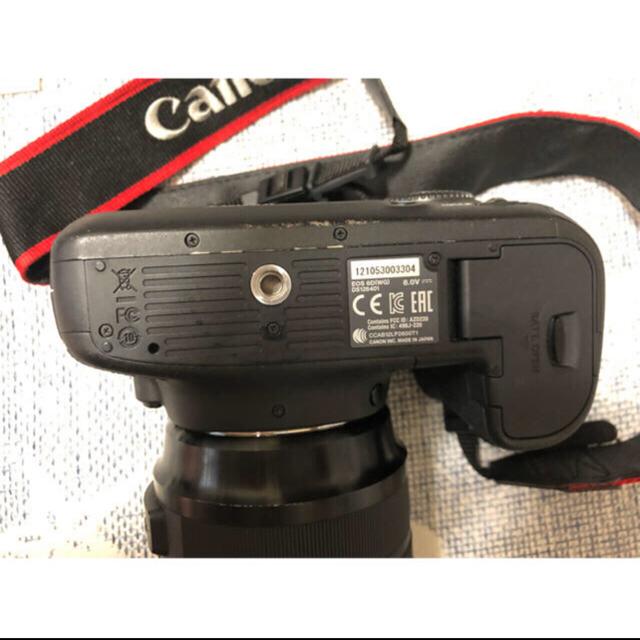 Canon(キヤノン)のCanon EOS6D フルサイズ 一眼レフ 美品 純正バッテリー2個付き スマホ/家電/カメラのカメラ(デジタル一眼)の商品写真