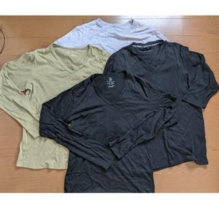 ビューティアンドユースユナイテッドアローズ(BEAUTY&YOUTH UNITED ARROWS)のユナイテッドアローズのロングTシャツ 4枚セット(Tシャツ/カットソー(七分/長袖))