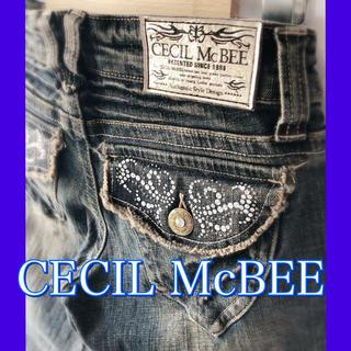 セシルマクビー(CECIL McBEE)のCECILMcBEEストレッチ デニムパンツ(デニム/ジーンズ)
