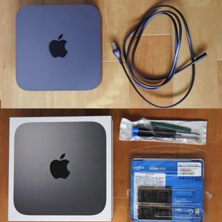Apple - Mac mini 2018 CTO i7 32GB 512GB 10GLAN