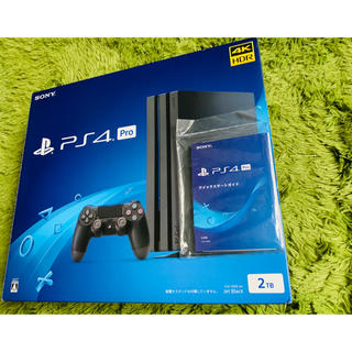 PlayStation4 - SONY PlayStation4 Pro 本体 CUH-7200CB01