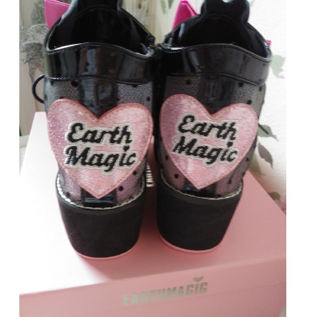 EARTHMAGIC(アースマジック)のお値下げ☆EARTHMAGIC ブーツサンダル21 22 新品☆ キッズ/ベビー/マタニティのキッズ靴/シューズ(15cm~)(その他)の商品写真