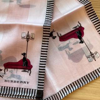BURBERRY - Burberryバーバリー大判ハンカチ