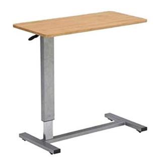 ガス圧昇降式 介護テーブル ベッドサイドテーブル