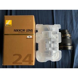 ニコン(Nikon)のAF-S NIKKOR 24mm f/1.8G ED(レンズ(単焦点))