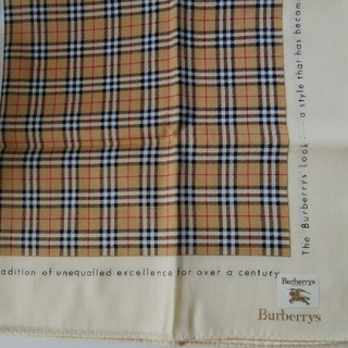BURBERRY - バーバリーハンカチ 未使用
