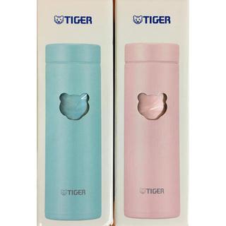 タイガー(TIGER)のTIGER魔法瓶/夢重力ボトル300ml(アザーブルー)(シェルピンク)(水筒)