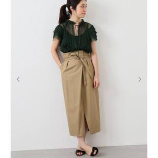 IENA - タックラップスカート