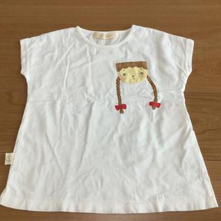 フランシュリッペ(franche lippee)のフランシュリッペ ラ ぺチット Tシャツ カットソー 三つ編み 女の子 120(Tシャツ/カットソー)