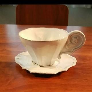 アッシュペーフランス(H.P.FRANCE)のアスティエ カップ&ソーサー(グラス/カップ)