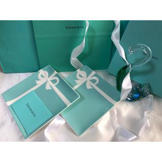 Tiffany & Co. - ティファニー ブルーボウ デザートプレート2枚セット【贈り物用】