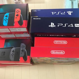 ニンテンドースイッチ(Nintendo Switch)のSwitch 6台+PS4+PS4 Pro+リングフィット2台 セット売り(家庭用ゲーム機本体)