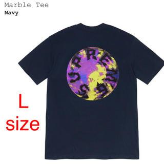 シュプリーム(Supreme)のSupreme Marble Tee  Lsize(Tシャツ/カットソー(半袖/袖なし))