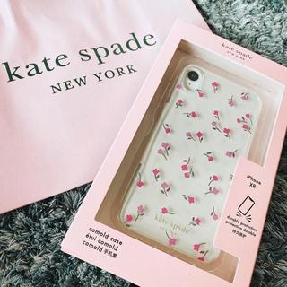 kate spade new york - ケイトスペード iPhonexr iPhone xr 花柄 ケース
