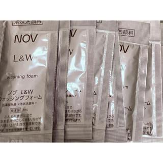 ノブ(NOV)のNOV  ノブ L&W  ウォッシングフォーム 泡状洗顔料 3ml 10包 (洗顔料)