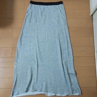 グリーンレーベルリラクシング(green label relaxing)のユナイテッドアローズ グリーンレーベルリラクシング コットンパイル スカート(ロングスカート)