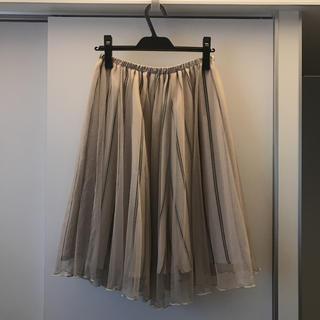 クチュールブローチ(Couture Brooch)のチュールスカート クチュールブローチ(ひざ丈スカート)