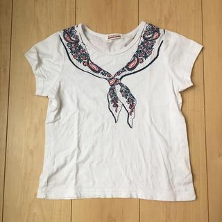 ブランシェス(Branshes)のブランシェス  セーラー柄 Tシャツ 120(Tシャツ/カットソー)