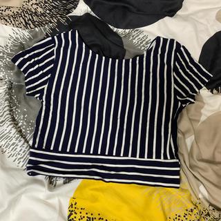 ムルーア(MURUA)のムルーア ボーダー Tシャツ(Tシャツ(半袖/袖なし))