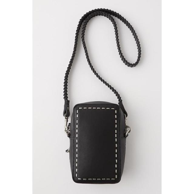 moussy(マウジー)の完売MOUSSYマウジー STITCH SHOULDER BAGバッグ レディースのバッグ(ショルダーバッグ)の商品写真