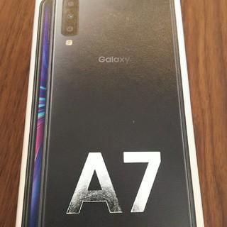 サムスン(SAMSUNG)のGalaxy A7 新品未開封 有機EL SIMフリー(スマートフォン本体)