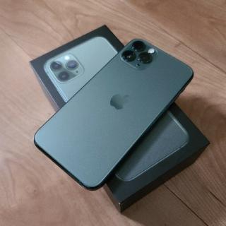 iPhone - docomo iPhone11Pro ミッドナイトグリーン 64GB 新品同様品