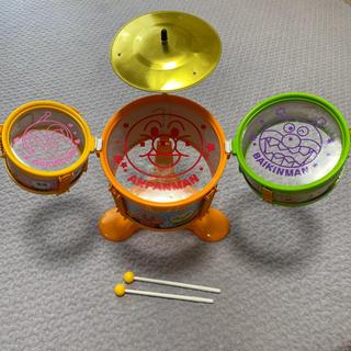アンパンマン(アンパンマン)のアンパンマン おおきなドラムセット(楽器のおもちゃ)