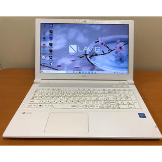 NEC - NEC エヌイーシー/SSD480GB/Win10/ホワイト/DDR4/オフィス