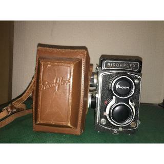 リコー(RICOH)のアンティーク カメラ RICOHFLEX(フィルムカメラ)
