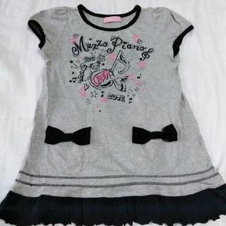 メゾピアノジュニア(mezzo piano junior)のメゾピアノ Tシャツ 140cm(Tシャツ/カットソー)