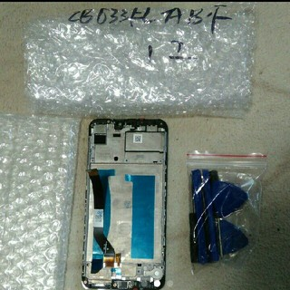 Zenfone Max M2 ZB633KL 液晶仕組フレー厶付きジャック扱い(その他)