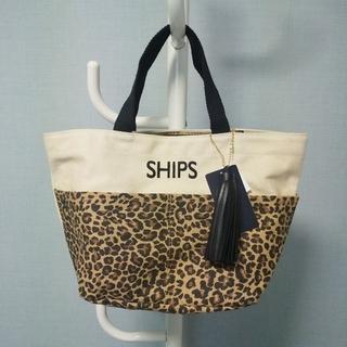 SHIPS - シップス タッセル ポケット トートバッグ SHIPS