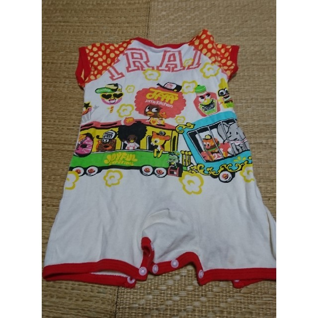 JAM(ジャム)のjam ロンパース キッズ/ベビー/マタニティのベビー服(~85cm)(ロンパース)の商品写真