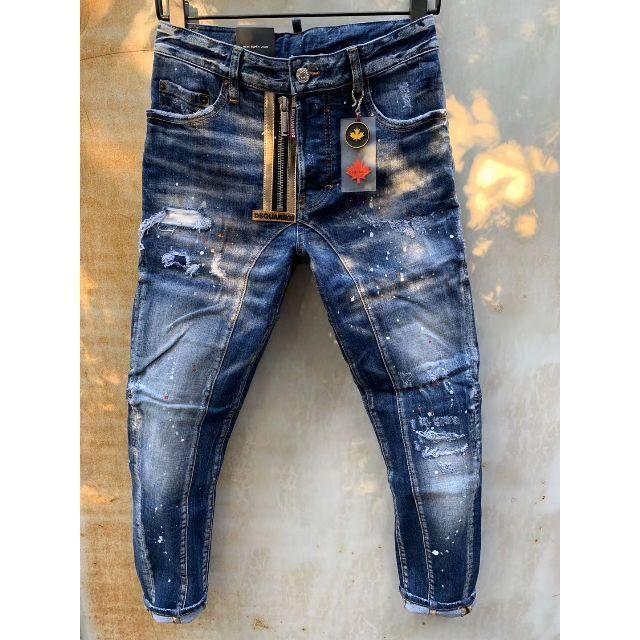 DSQUARED2(ディースクエアード)の新品 DSQUARED2 ディースクエアード デニム ジーンズ サイズ50 メンズのパンツ(デニム/ジーンズ)の商品写真
