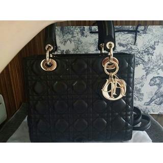 Dior - クリスチャンディオール レディーDIORハンドバッグ
