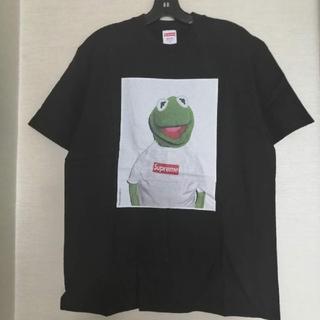 シュプリーム(Supreme)の早い者勝ちSupreme 半袖ディシャツ ブラック 黒 カエル L (Tシャツ(半袖/袖なし))