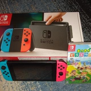 Nintendo Switch - ニンテンドースイッチ あつ森セット