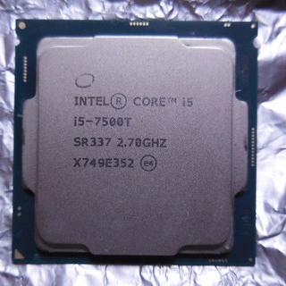Minipppoe様専用 intel i5-7500T 2.7GHz 4コア(PCパーツ)
