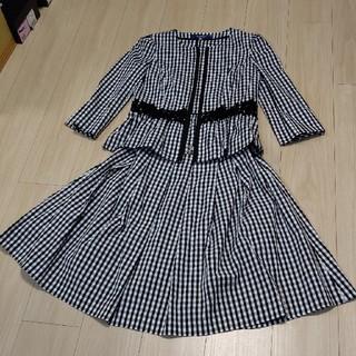 M'S GRACY - M'sグレイシー  チェックサマー スーツ