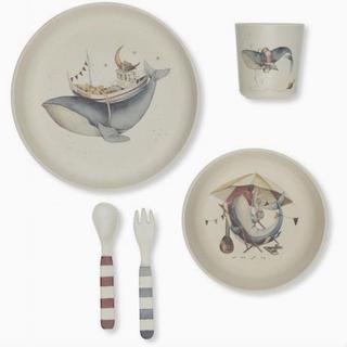 コンゲススロイド クジラ柄お食事セット 離乳食開始 新品未使用